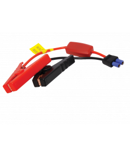 Jump cable with clamps