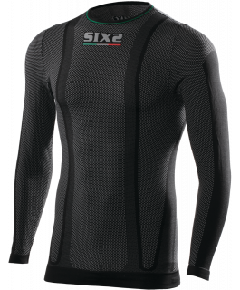 Long-sleeve round neck jersey SuperLight carbon Underwear®