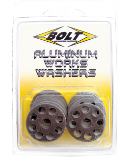 M6 Aluminum Works washers