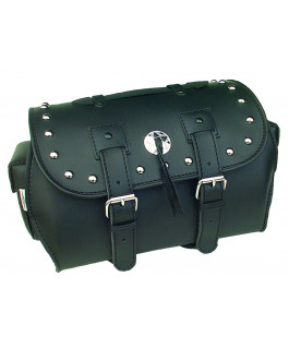 Memphis travel bag deluxe studded chrome