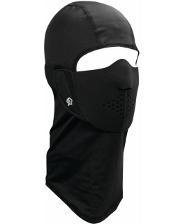 Modi-Face® nylon balaclava with detachable half-mask