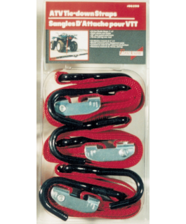 "Pack of 3 Cambuckle tie-downs 1"" x 6ft long"