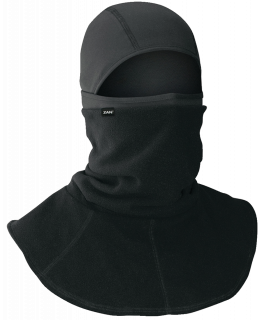 Polyester balaclava with fleece neck gaiter