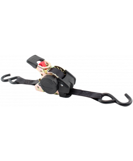 "Re-tractable® ratchet tie-downs 1"" x 10ft long"