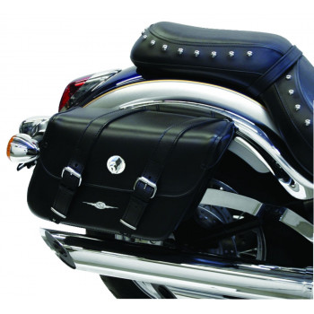 Standard Houston Classic Leather Tek saddlebags Parts & Other Accessories