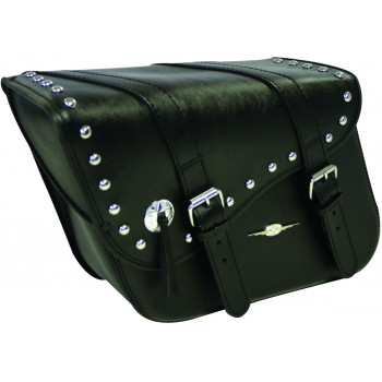 Studded Indiana Leather Tek saddlebags Parts & Other Accessories