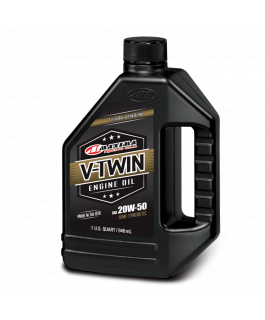 V-Twin synthetic blend engine oil