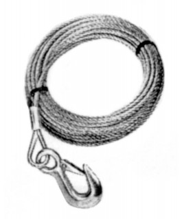 Winch cable & hook