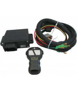 Winch wireless remote assembly