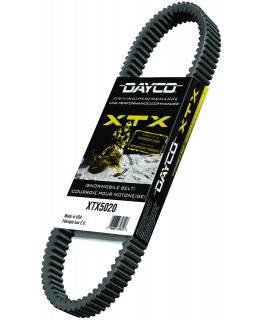 XTX - Belts for extremely powerful snowmobiles
